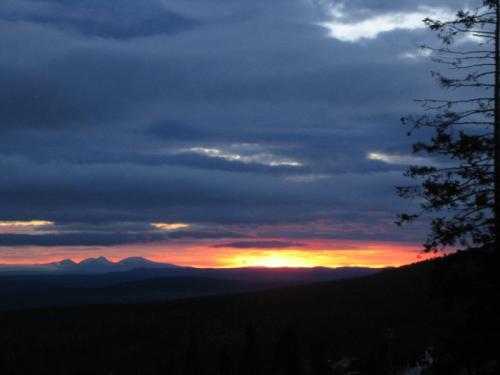 Solnedgång 5 september 2008